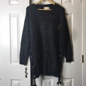 Dreamers Oversized Speckled Soft Cardigan Size L